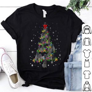 Hot Cute Kerry Blue Terrier dog Christmas Tree gift decor Xmas shirt