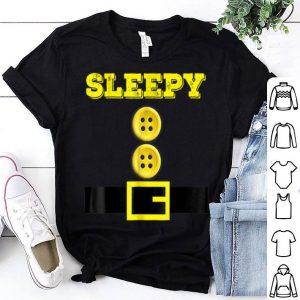 Hot Sleepy Halloween Dwarf Matching Group Costume Gift shirt