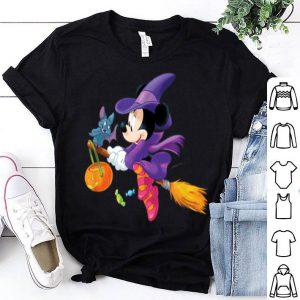 Official Disney Halloween Minnie Mouse Flying Witch shirt