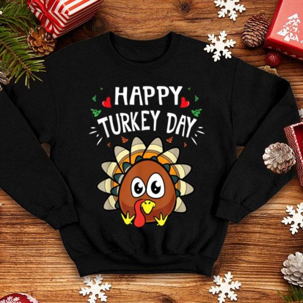 Official Happy Turkey Day Cute Thanksgiving Quotes & Sayings Gift shirt