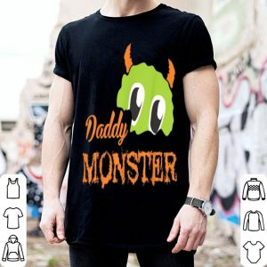 Official Mens Funny Daddy Monster Halloween Costume Gift Ideas Zombie Bone shirt