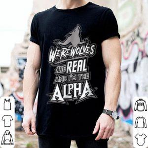 Official Werewolves Are Real Halloween Men Women shirt