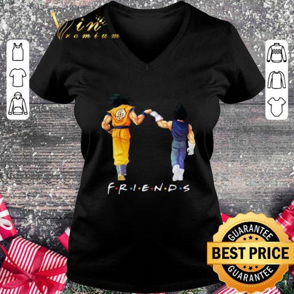 Original Friends Son Goku and Vegeta shirt
