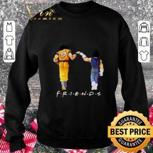 Original Friends Son Goku and Vegeta shirt 2