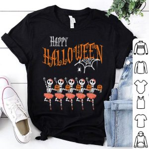 Original Halloween Dancing Ballet Skeleton Ballerina Costume shirt