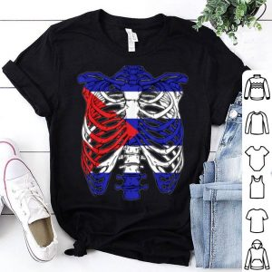 Original Skeleton Cuba Halloween Cuban shirt