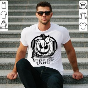 Premium Halloween Pumpkin DJ , Music Lovers Halloween Costum shirt