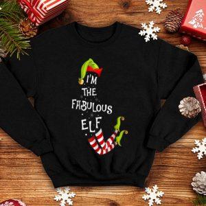 Premium I'm The Fabulous Elf Ugly Christmas Sweater Pajama shirt