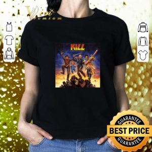 Premium Kiss Kill Destroyers horror movie characters shirt