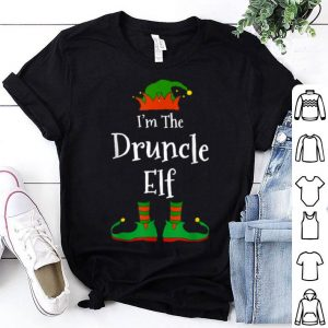 Premium Mens I'm The Druncle Elf Family Matching Funny Christmas Gift shirt
