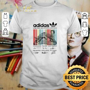 Premium adidas all day i dream about The Rocky Horror Show signatures shirt
