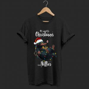Premium trending All I Want For Christmas Is A Niffler shirt