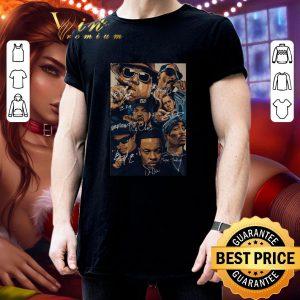 Pretty Compton team rapper signatures shirt 2