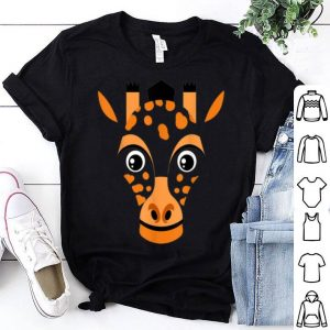 Top Giraffe Face Costume Cute Animal Safari Zoo Halloween Gift shirt