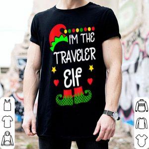 Top I'm The Traveler Elf Funny Christmas Family Costume shirt
