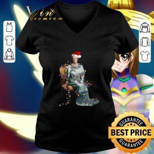 Top Santa Violet Crawley Christmas lights shirt 1