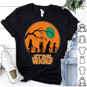 Top Star Wars Characters Trick Or Treat Halloween shirt