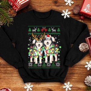 Awesome Alaskan Malamute Ugly Christmas Dog Funny Christmas Gifts shirt