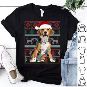 Awesome Beagle Ugly Sweater Christmas Gift shirt