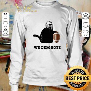 Awesome Black Cat Dallas Cowboys We Dem Boyz shirt 2