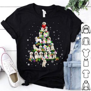 Awesome Cute Maltese dog Christmas Tree gift decor Xmas tree shirt