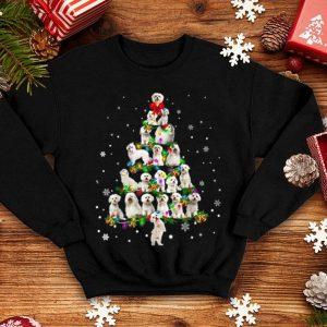 Awesome Cute Maltese dog Christmas Tree gift decor Xmas tree shirt