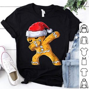Awesome Dabbing Gingerbread Santa Christmas kids boys Gifts sweater