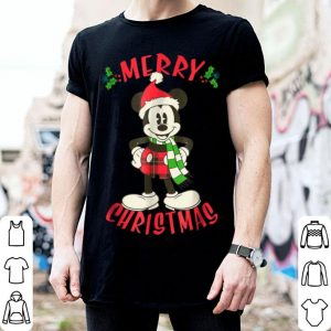 Awesome Disney Vintage Mickey Mouse Christmas Holiday shirt