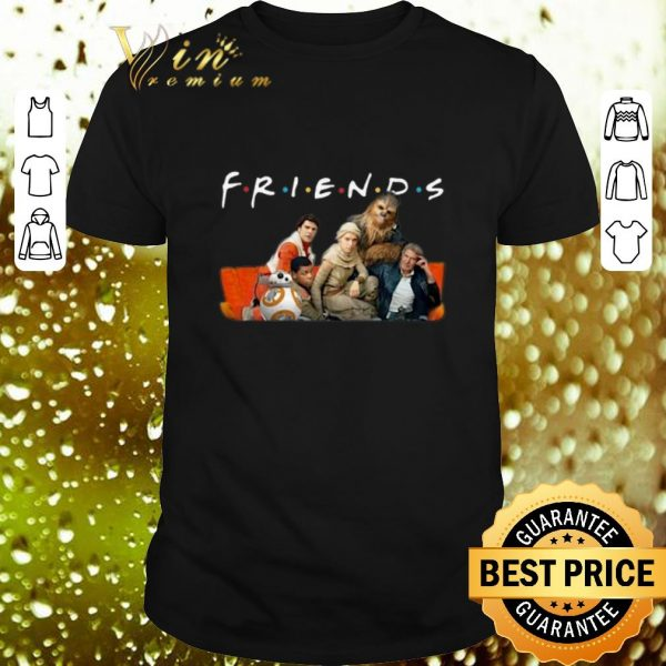 Awesome Friends Star Wars characters shirt