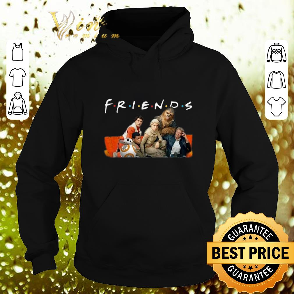 Awesome Friends Star Wars characters shirt 4 - Awesome Friends Star Wars characters shirt