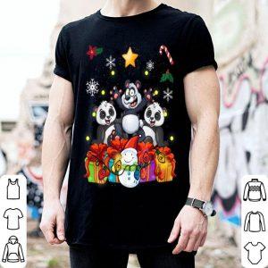 Awesome Funny Panda Christmas Tree Cute Decor Gift Xmas Presents sweater