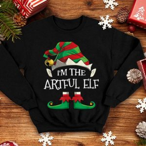 Awesome I'm The ARTFUL Elf Family Matching Christmas Gifts shirt