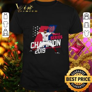 Awesome Stephen Strasburg Washington Nationals Champions 2019 shirt