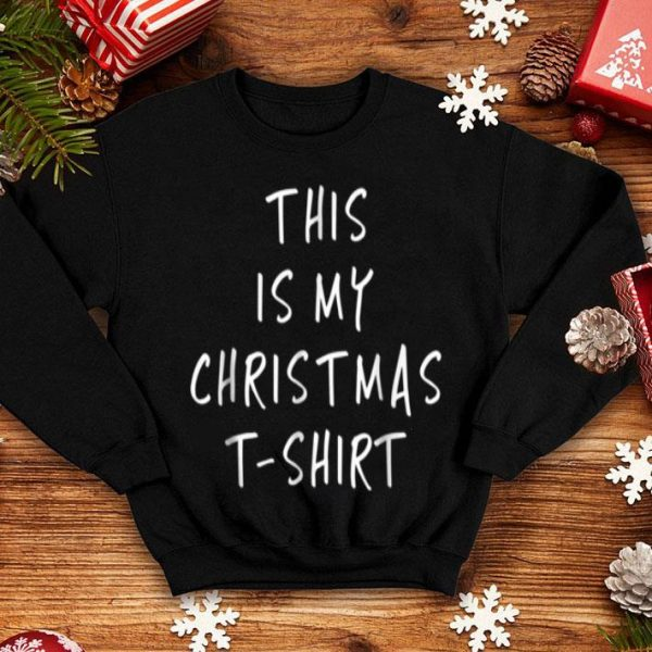 Awesome This Is My Christmas - Funny Slogans sweater