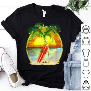 Awesome Tropical Beach Christmas Holiday shirt