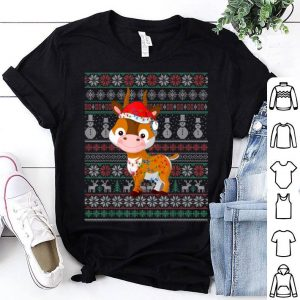 Beautiful Antelope Ugly Christmas Sweater Xmas Gift Antelope Lovers shirt
