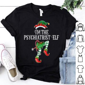 Beautiful Im the Psychiatrist Elf Christmas Matching Medical Staff sweater