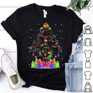Beautiful Rottweiler Dogs Tree Christmas Sweater Xmas Pet Animal Dog sweater