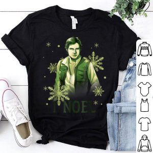 Beautiful Star Wars Han Solo I Noel Christmas Snowflake shirt