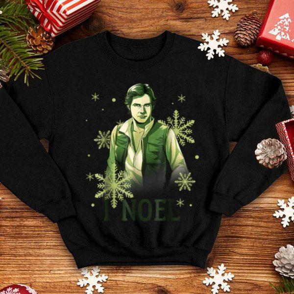 Beautiful Star Wars Han Solo I Noel Christmas Snowflake shirt