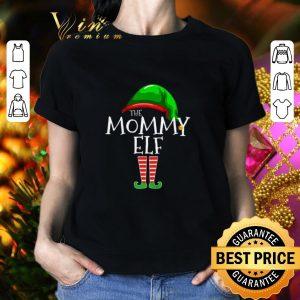 Best The Mommy Elf Family Christmas shirt 1