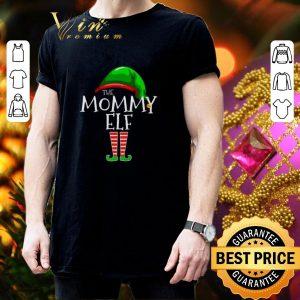 Best The Mommy Elf Family Christmas shirt 2