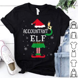 Hot Accountant Elf Matching Family Funny Christmas Costume sweater