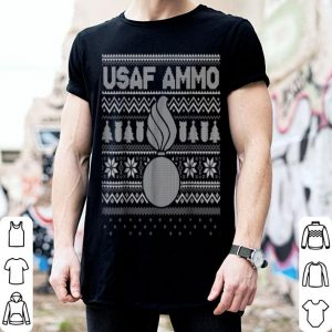 Hot Air Force AMMO Ugly Christmas Sweater Style shirt