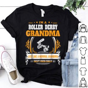 Hot Funny Roller Derby Grandma Christmas Gift for Grandma shirt