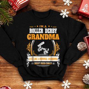 Hot Funny Roller Derby Grandma Christmas Gift for Grandma shirt