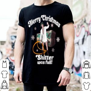 Hot Merry Christmas Shitter Was Full Vacation shirt