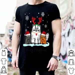 Nice Cat Merry Fluffmas Funny Gift For Christmas Men Women Kids shirt