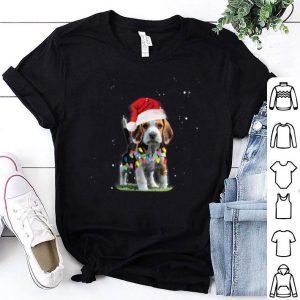 Nice Christmas Lights Beagle Cute Gifts for Dog Lovers shirt