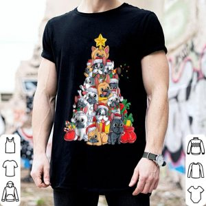 Nice French Bulldog Christmas Xmas Tree Dog Boys Girls Gift sweater